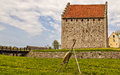 Glimmingehus stronghold image of the medieval of sweden Royalty Free Stock Photo