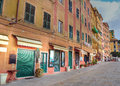 Glimpse of camogli genoa italy Royalty Free Stock Photos