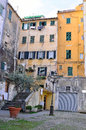 Glimpse of the historical center of sanremo italy Royalty Free Stock Photography