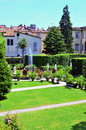 Glimpse in lucca tuscany italy Stock Image