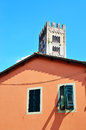 Glimpse in lucca tuscany italy Royalty Free Stock Photography