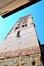 Glimpse in lucca tuscany italy Stock Images