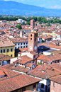 Glimpse in lucca tuscany italy Stock Photography