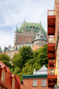 Glimpse of Quebec City Royalty Free Stock Photography
