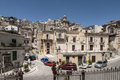 Glimpse of ragusa sicily italy europe view a from the churchyard purgatory Royalty Free Stock Photography