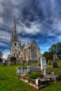 Église de marbre Images stock