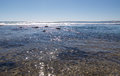 Glistening Blue Holes Seascape