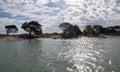 Glistening River Banks Royalty Free Stock Photo