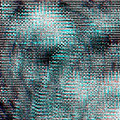 Glitch psychedelic background. Old TV screen error. Digital pixel noise abstract design. Photo glitch. Television signal Royalty Free Stock Photo