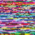 Glitch texture colorful background