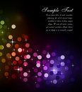 Glitter Abstrat Lights for Flyers Background Royalty Free Stock Photo