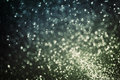 Glitter bokeh background, abstract texture of defocused lights Royalty Free Stock Photo
