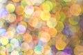 Glitter Bubble Bokeh Background