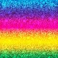 Glitter card. Rainbow background. Premium quality.