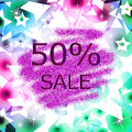 Glitter sale abstract background