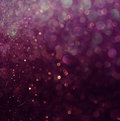 Glitter vintage lights background. white and purple. defocused Royalty Free Stock Photo