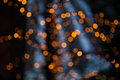 Glittering lights bokeh of Royalty Free Stock Photography