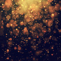 Glittering stars on bokeh background Royalty Free Stock Photo