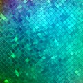 Glitters on blurred with smooth highlights eps blue a soft background vector file included Stock Image