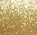 Glittery gold Christmas background Royalty Free Stock Photo