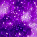 Glittery purple Christmas background. EPS 8 Royalty Free Stock Image