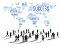 Global Business People Corporate Meeting Success Growth Concept Royalty Free Stock Photo