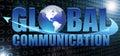 Global communication Royalty Free Stock Photo