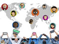 Global community world people international nationality concept Stock Photo