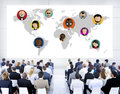 Global Community World People Social Networking Concept Royalty Free Stock Photo