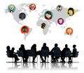 Global Community World People Social Networking Connection Royalty Free Stock Photo