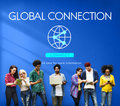 Global Connection Accessible Internet Technology Concept Royalty Free Stock Photo