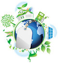 Global Conservation Concept. Stock Images