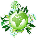 global eco Royaltyfri Bild