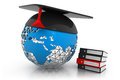 Global Education concept Royalty Free Stock Photo