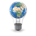 Global energy solution Stock Photography