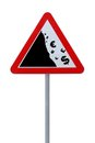Global Financial Crisis Road Sign Stock Photography