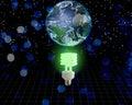 Global Green Idea Royalty Free Stock Photo
