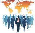 Globálne človek zdroje obchod tím