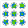 Global Icon Set - Version 1 Royalty Free Stock Photo