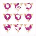 Global Icon Set - Version 3 Royalty Free Stock Photo