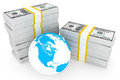 Global investment concept Royalty Free Stock Images