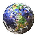 Global Network of People Royalty Free Stock Photo