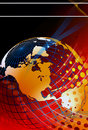 Global news background Stock Images