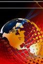 Global news background