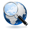 Global search concept Royalty Free Stock Photo
