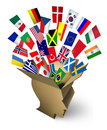 Global Shipping Solutions Royalty Free Stock Photo