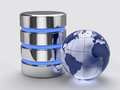 Global storage concept d render of Stock Photos
