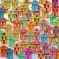 Global Village conceptual image Royalty Free Stock Photo