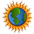 Global Warming Planet Earth Royalty Free Stock Photography