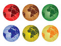 Globe  - africa Royalty Free Stock Photos